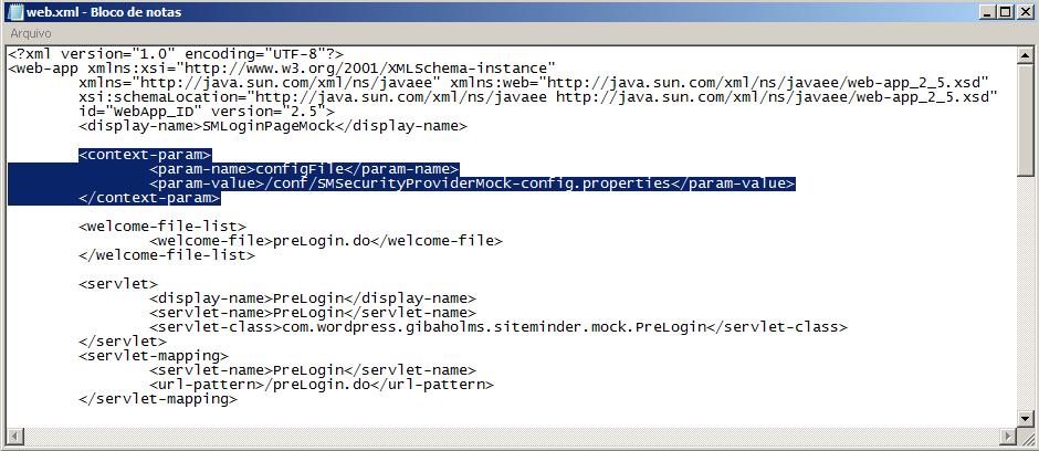 SiteMinder WebLogic Security Provider Mock – Gilberto Holms